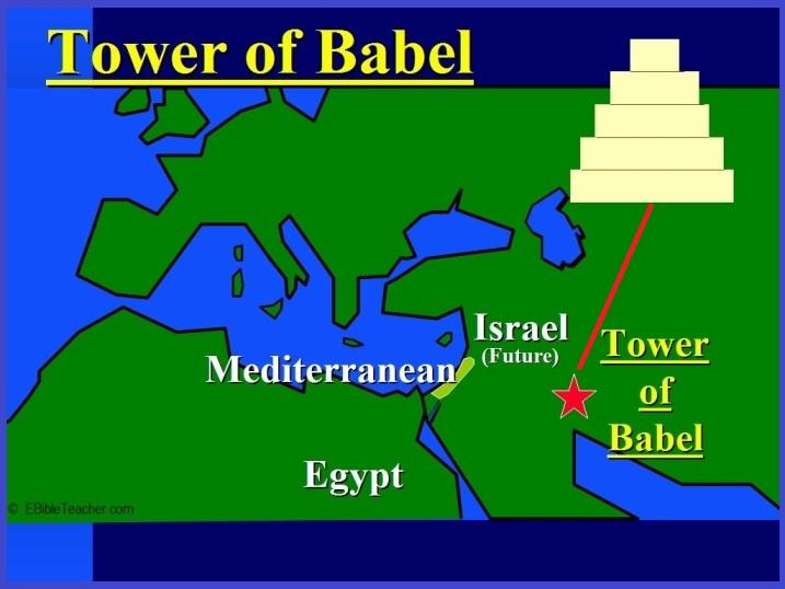 Shinar tower of babel