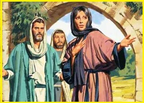 4 Telling Peter and John
